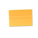 "4"" LIDCO YELLOW BONDO CARD"