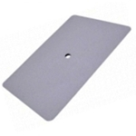 "6"" WHITE TEFLON HARD CARD SQUEEGEE"