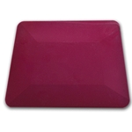 "4"" PURPLE TEFLON HARD CARD SQUEEGEE"