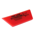 "FUSION 5 INCH RED LINE EXTRACTOR 1/4"" THICK SINGLE BEVELED CROPPED SQUEEGEE BLADE"