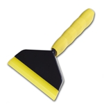 GO DOCTOR HANDLED WINDOW TINT INSTALLATION SQUEEGEE WITH YELLOW BLADE